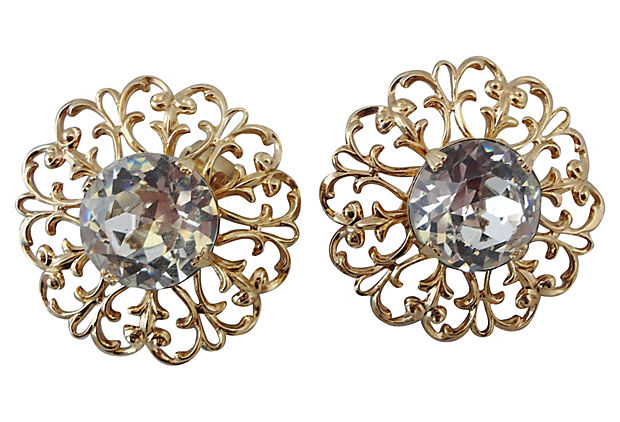 1950s Napier Earrings