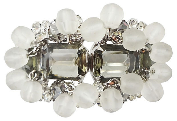 1960s Verified DeLizza & Elster Cuff Bracelet