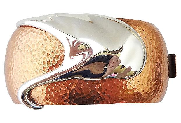 Monet Modernist Bracelet, 1985