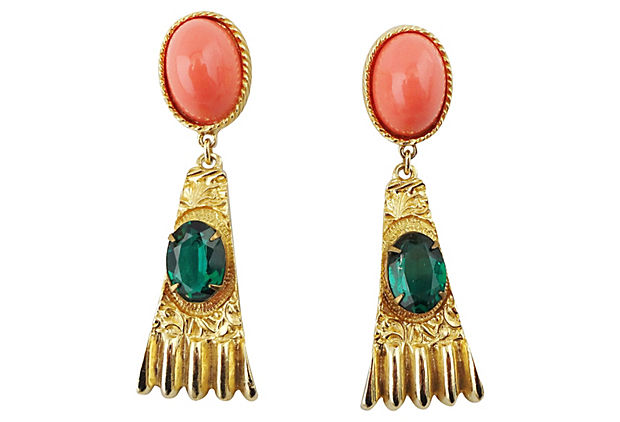 1960s Goldette Earrings
