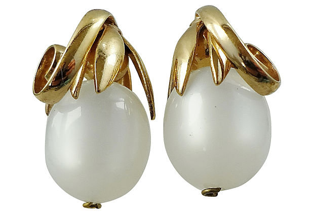 Napier Cumquat Moonglow Earrings