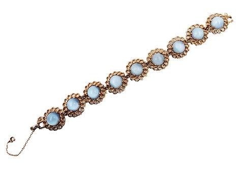 1950s Reja Faux-Blue Moonstone Bracelet