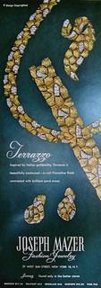 Jomaz 1959 Terrazzo Ad