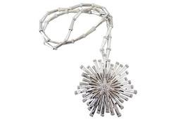 Monet Pin/Pendant Necklace, 1972