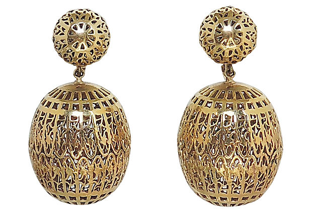 c. 1954 Trifari Earrings