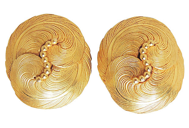 1980s Dominique Aurientis Earrings