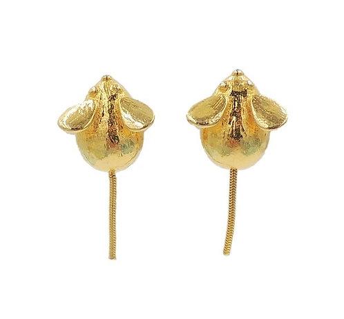 Mimi di N Mice Earrings, 1973