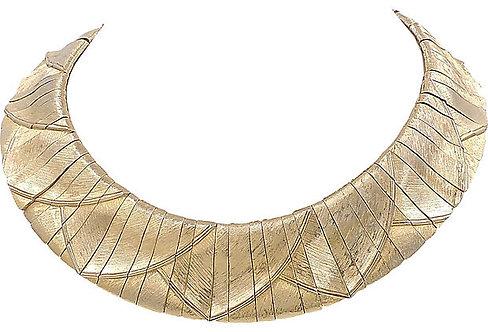 1980s Les Bernard Raised-Design Collar