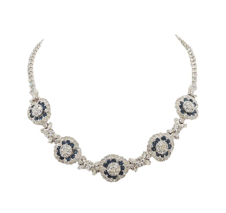 Pennino Flowers Necklace