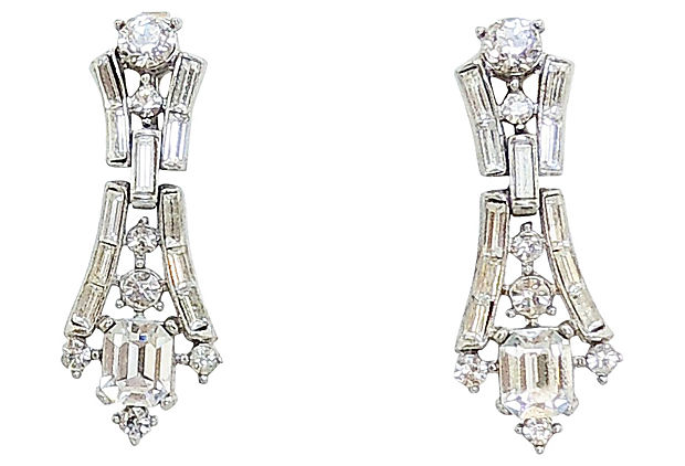 Trifari Earrings 1957