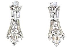 Trifari Earrings 1957