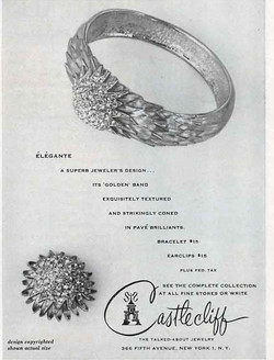 Castlecliff Ad in Vogue 1963