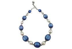 1950s Napier Blue Moonglow Necklace