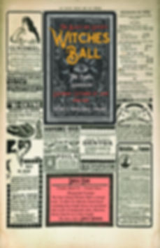 witches ball poster
