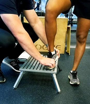Clinton Courtney PACT Physical Therapy ankle rehabilitation