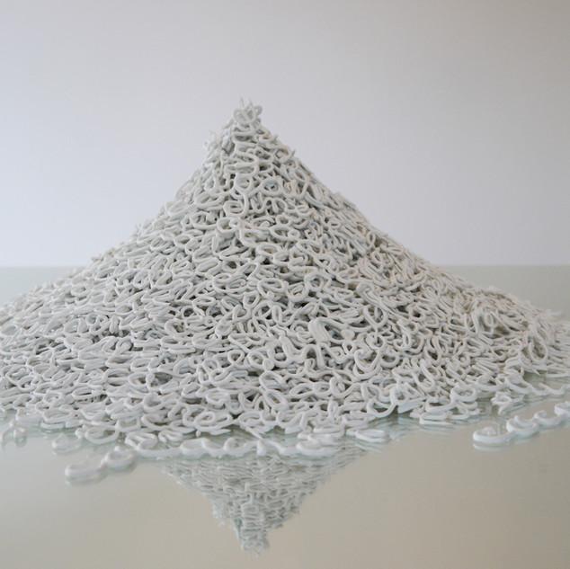 a pile of cocaine