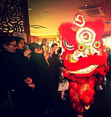 lion dance teams in London