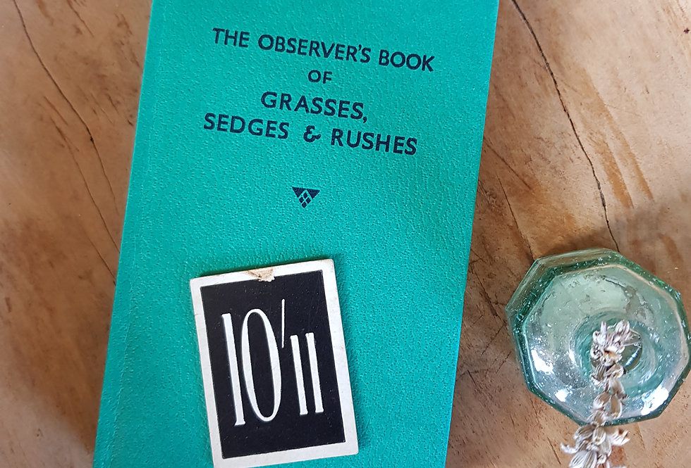 Observer's Book of Grasses, Sedges and Rushes