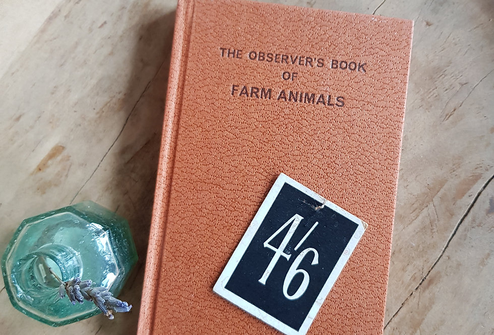 Observer's Book of Farm Animals