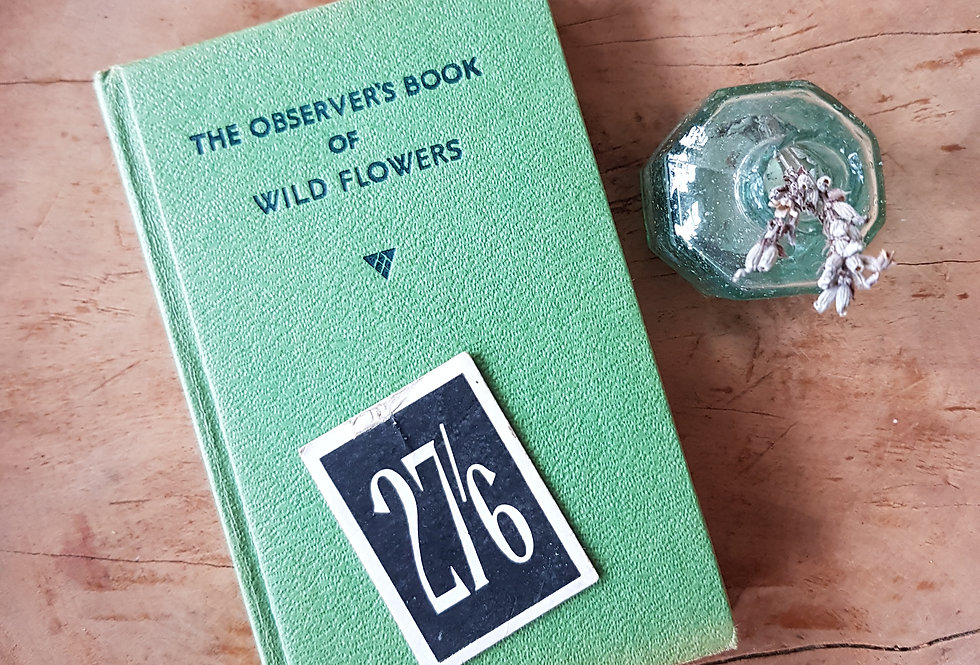 Observer's Book of Wild Flowers