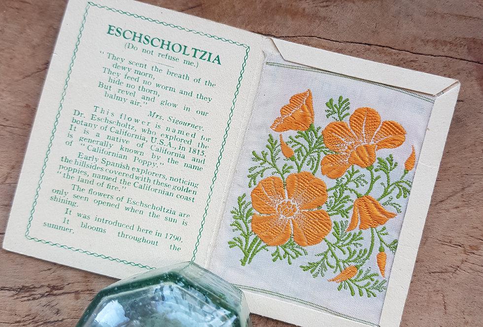 Eschscholtzia Silk Flower