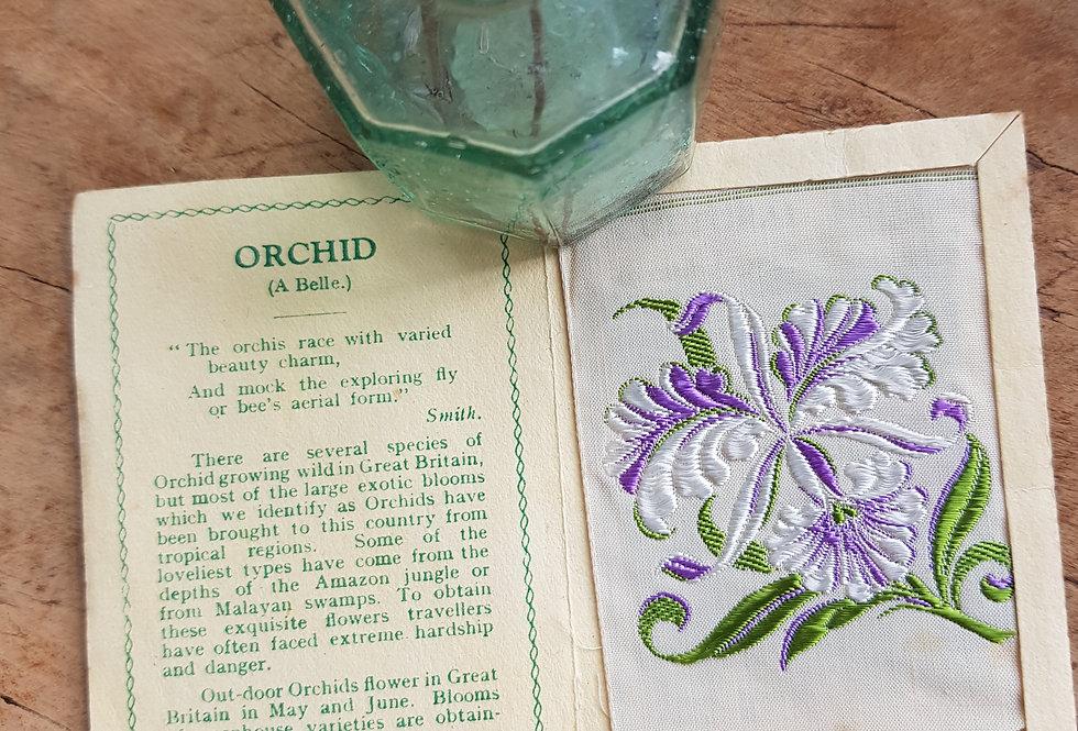 Orchid Silk Flower