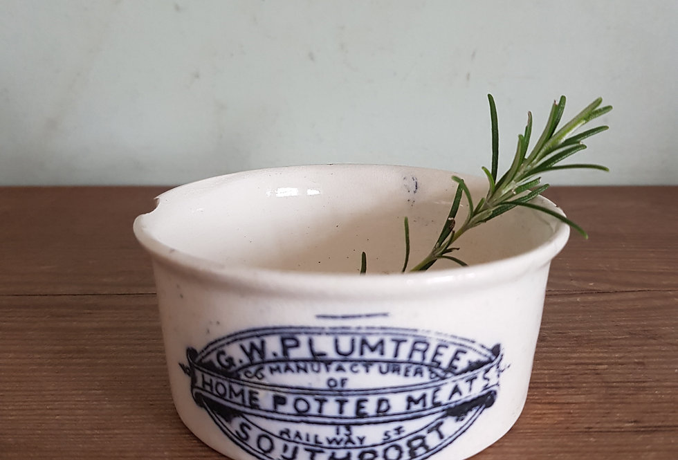 Antique Plumtree Potted Meats