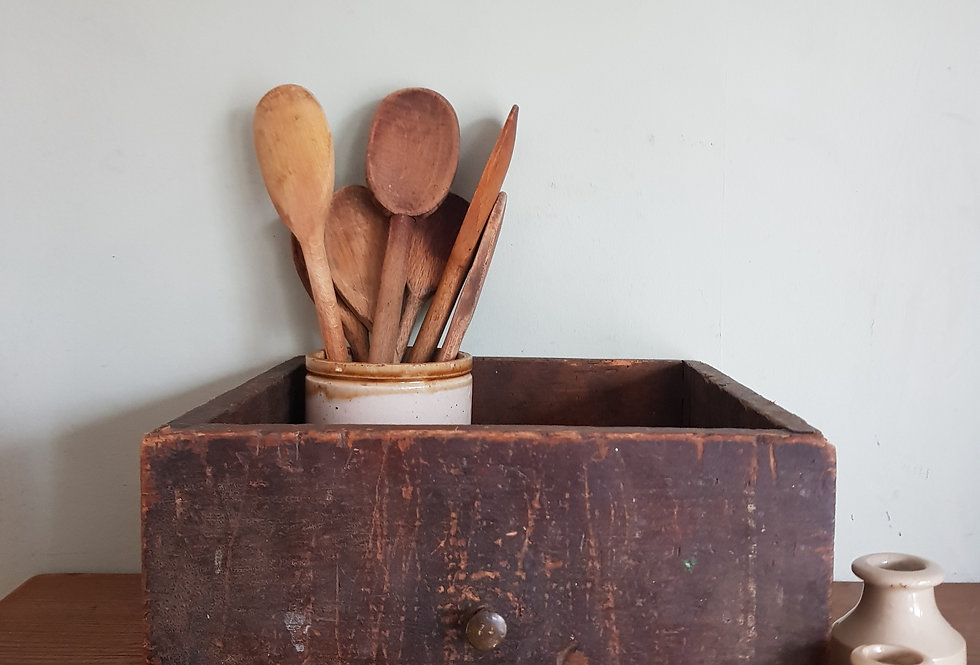 Rustic Drawer/Shelf