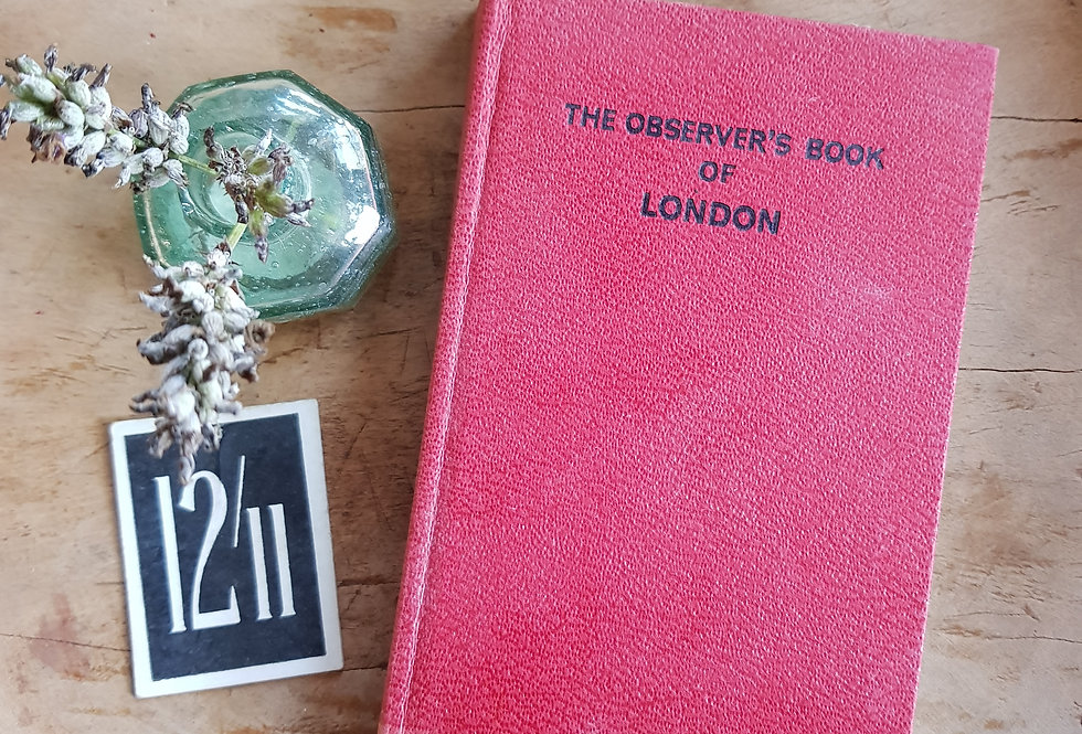 Observer's Book of London