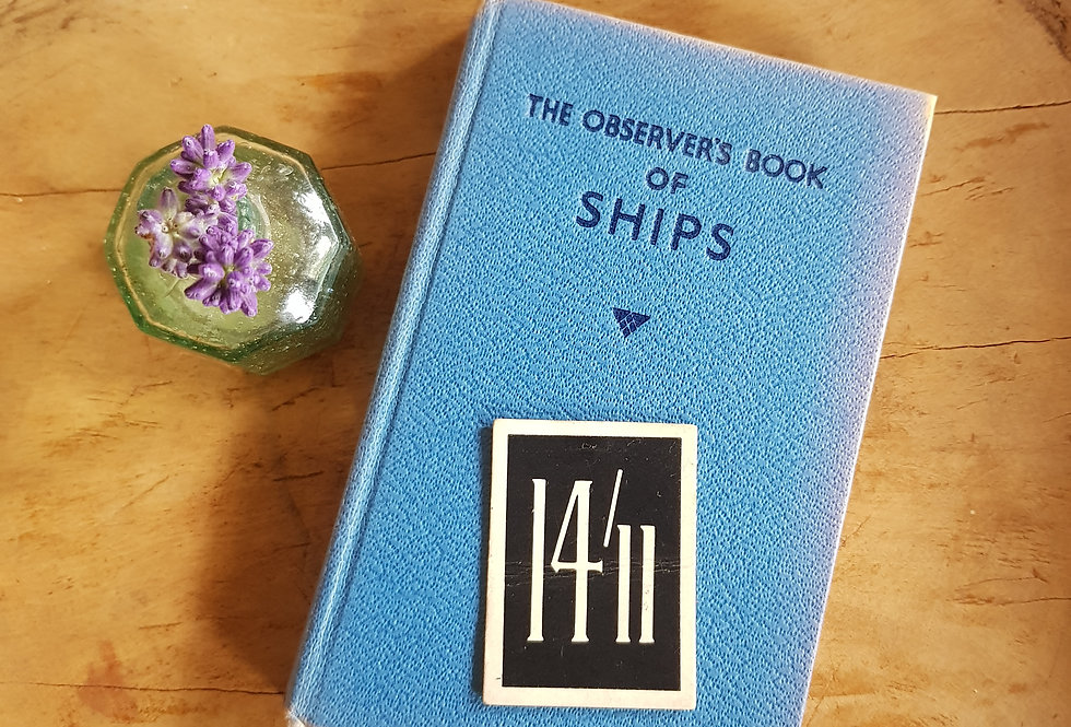 Observer's Book of Ships