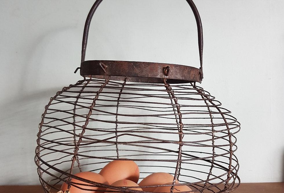French Egg Basket