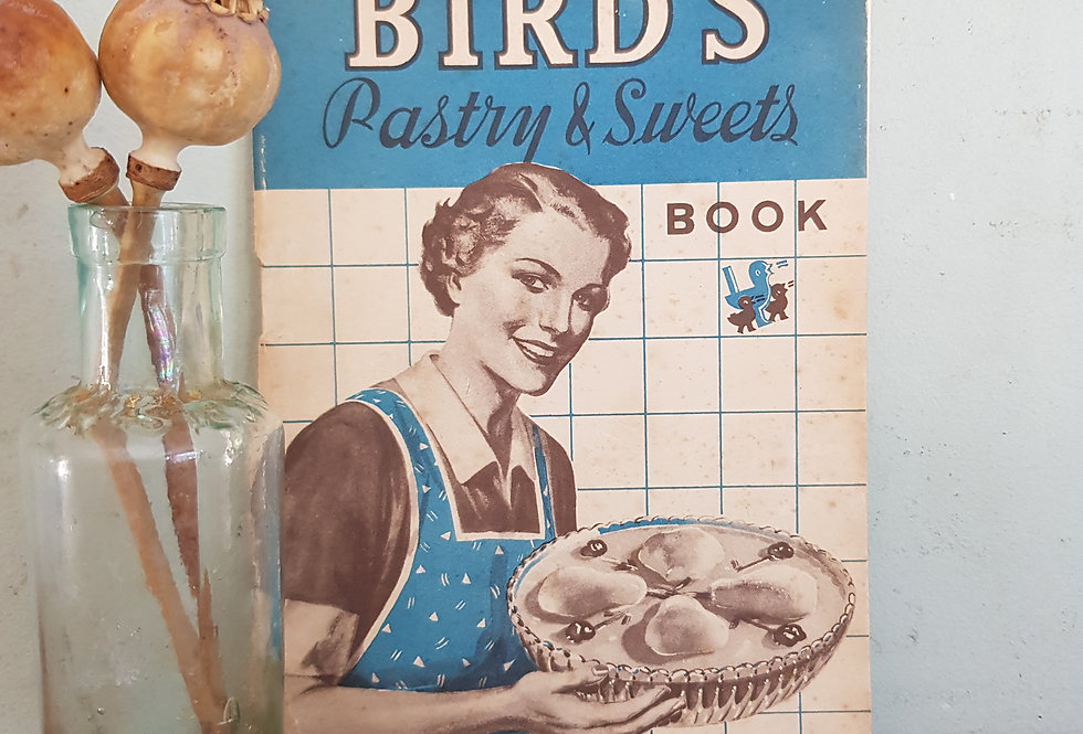Bird's Vintage Recipe Book