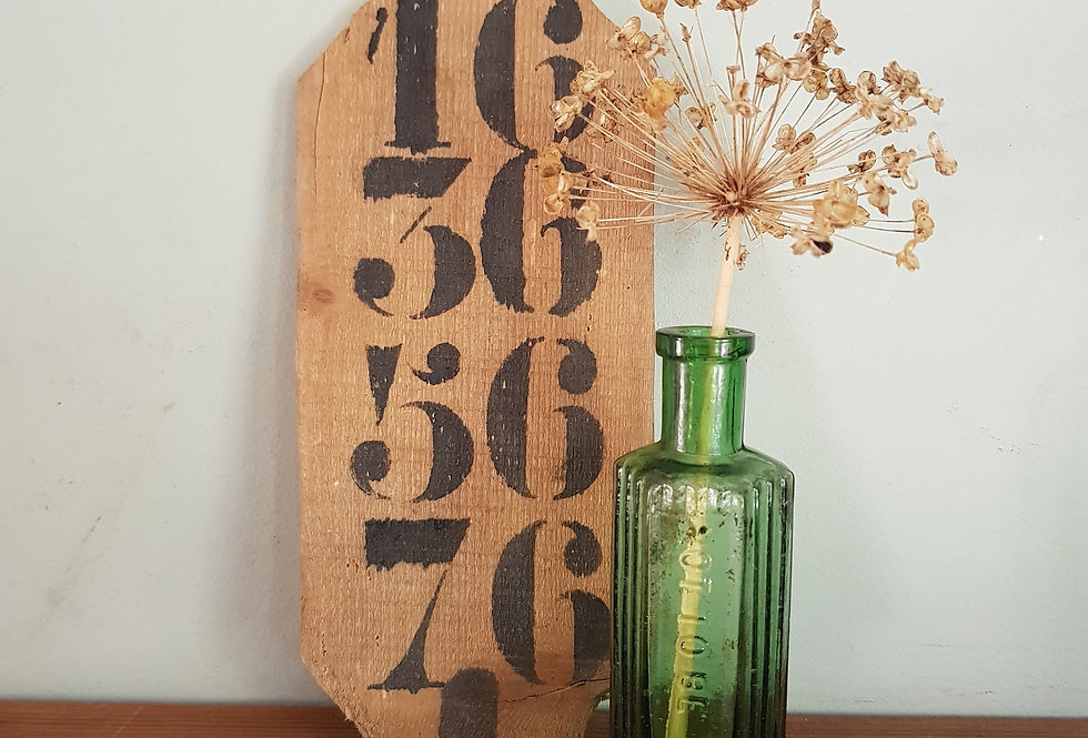Rustic Number Board