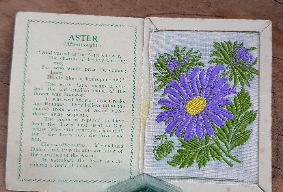 Aster Silk Flower