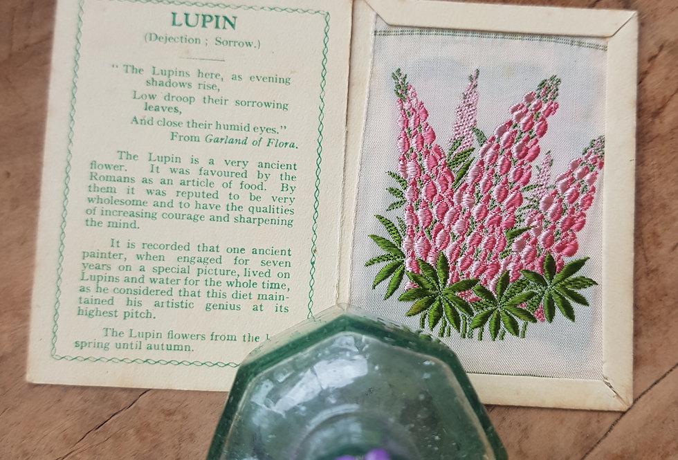 Lupin Silk Flower