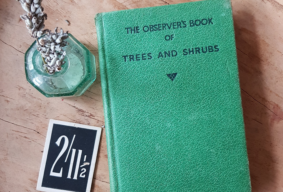 Observer's Book of Trees and Shrubs
