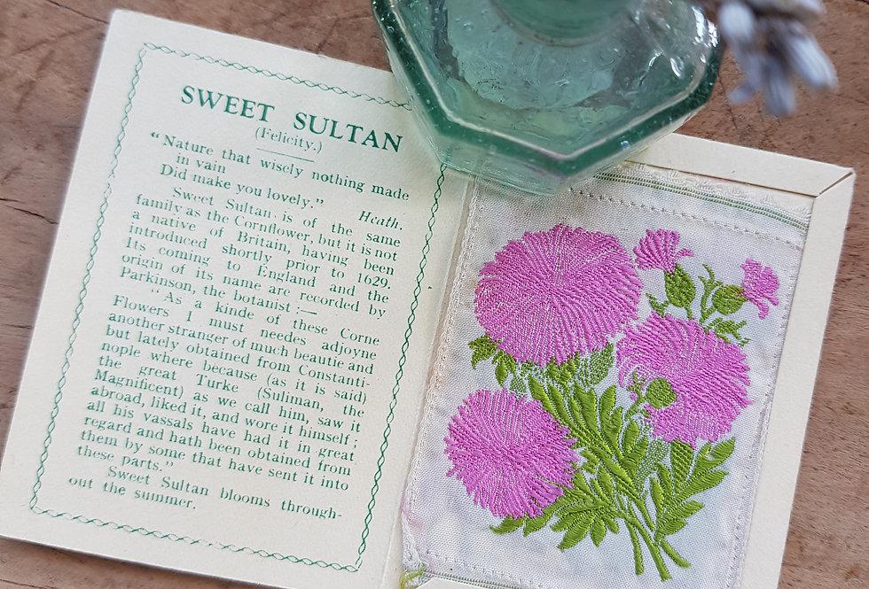 Sweet Sultan Silk Flower