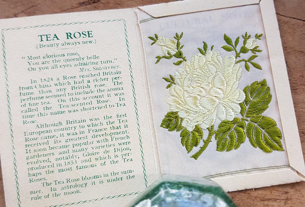 Tea Rose Silk Flower