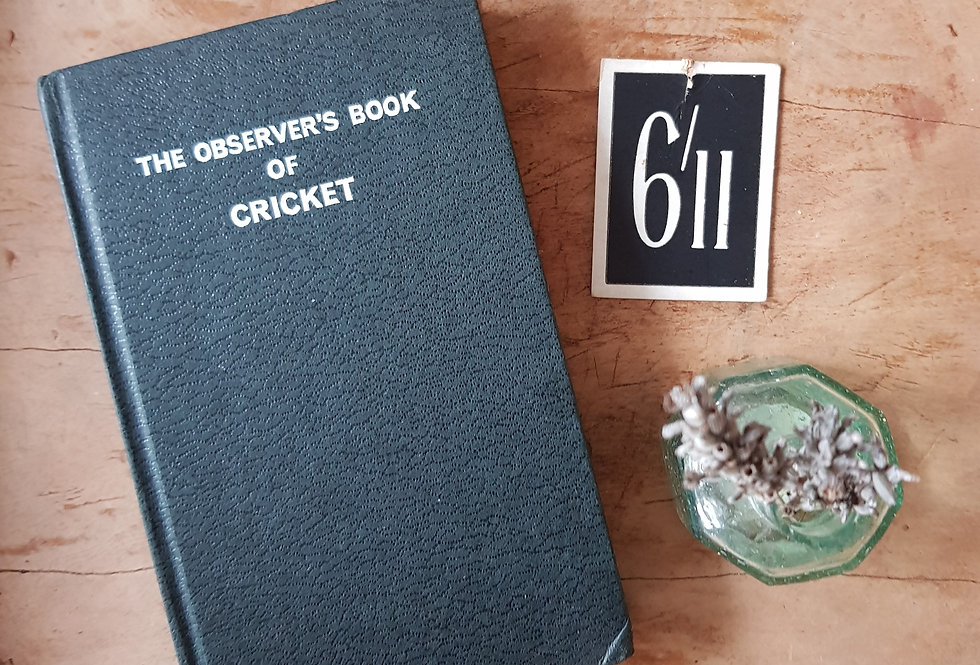 Observer'sBook of Cricket