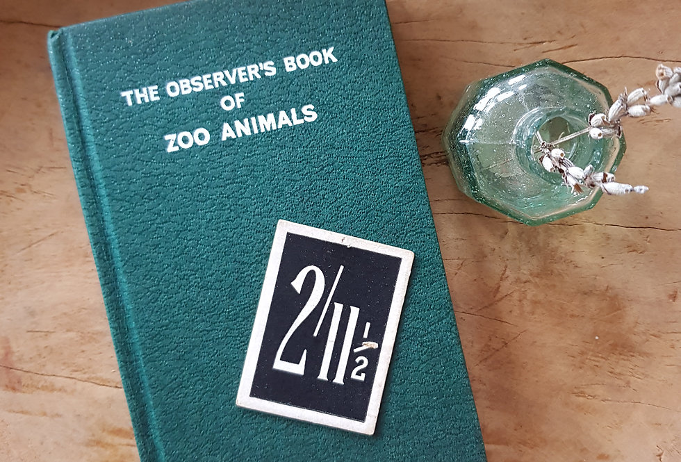 Observer's Book of Zoo Animals
