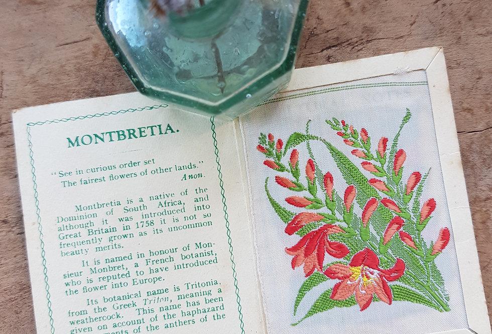 Montbretia Silk Flower