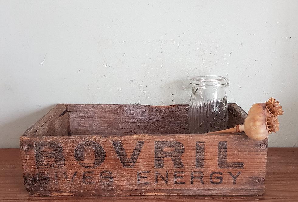 Vintage Bovril Box