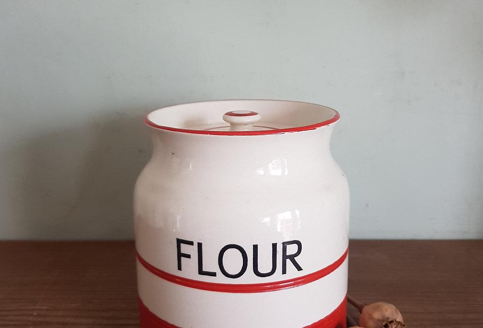 Sadler Flour Jar