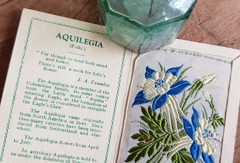 Aquilegia Silk Flower