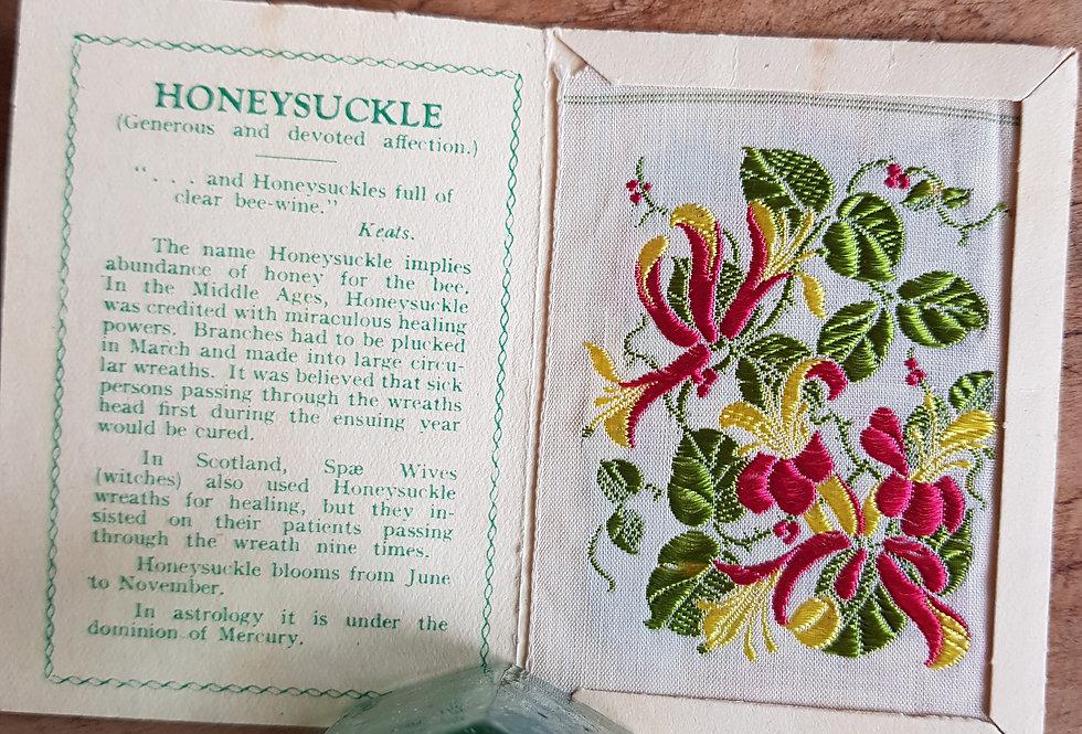 Honeysuckle Silk Flower