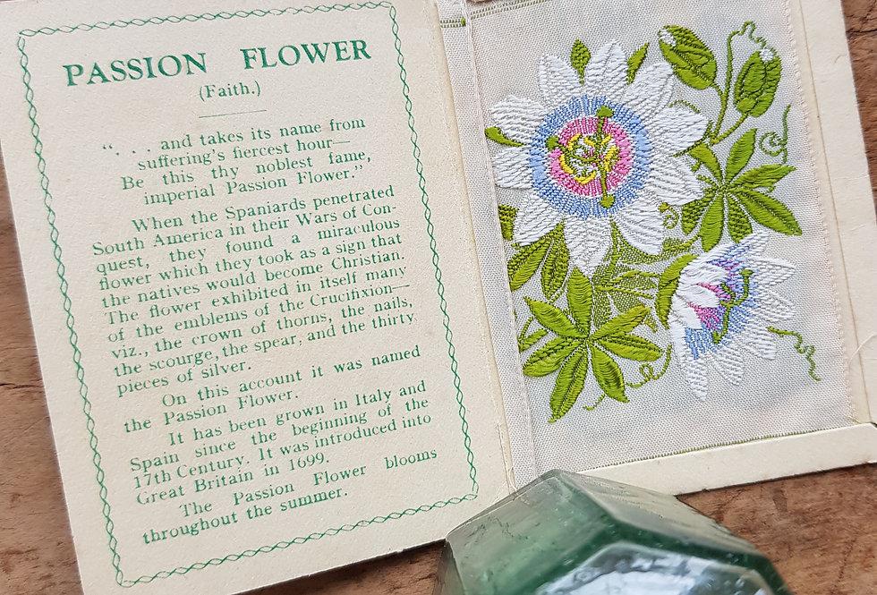 Passion Flower Silk Flower