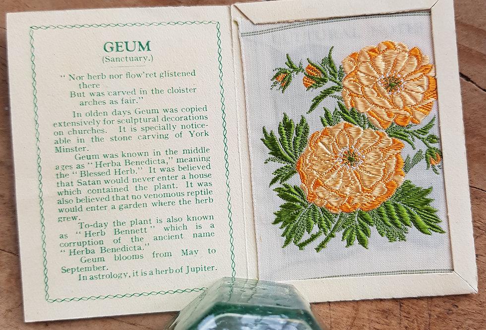 Geum Silk Flower