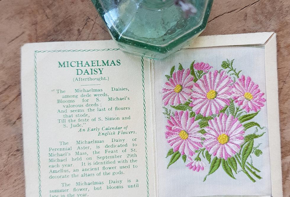 Michaelmas Daisy Silk Flower
