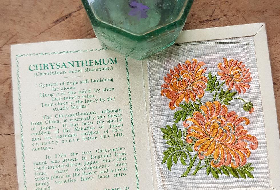 Chrysanthemum Silk Flower