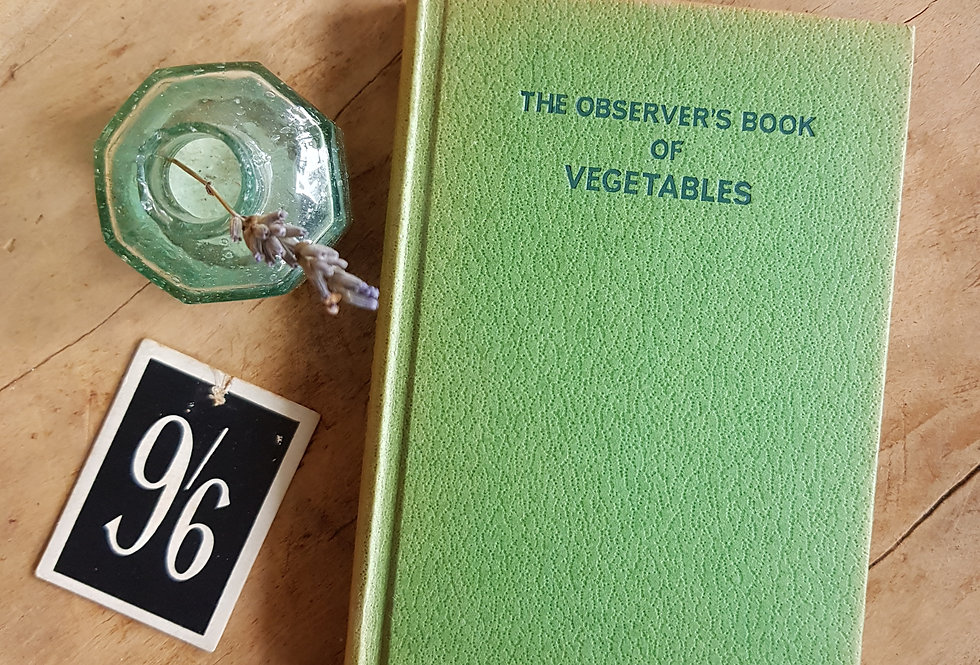 Observer's Book of Vegetables